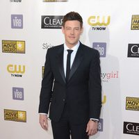 Cory Monteith en los Critics' Choice Movie Awards 2013