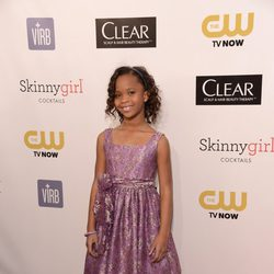 Quvenzhané Wallis en los Critics' Choice Movie Awards 2013