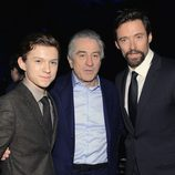 Tom Holland, Robert De Niro y Hugh Jackman en los Critics' Choice Movie Awards 2013