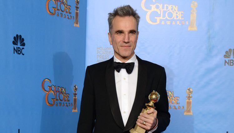 Daniel Day-Lewis, Mejor actor de drama por 'Lincoln' en los Globos de Oro 2013