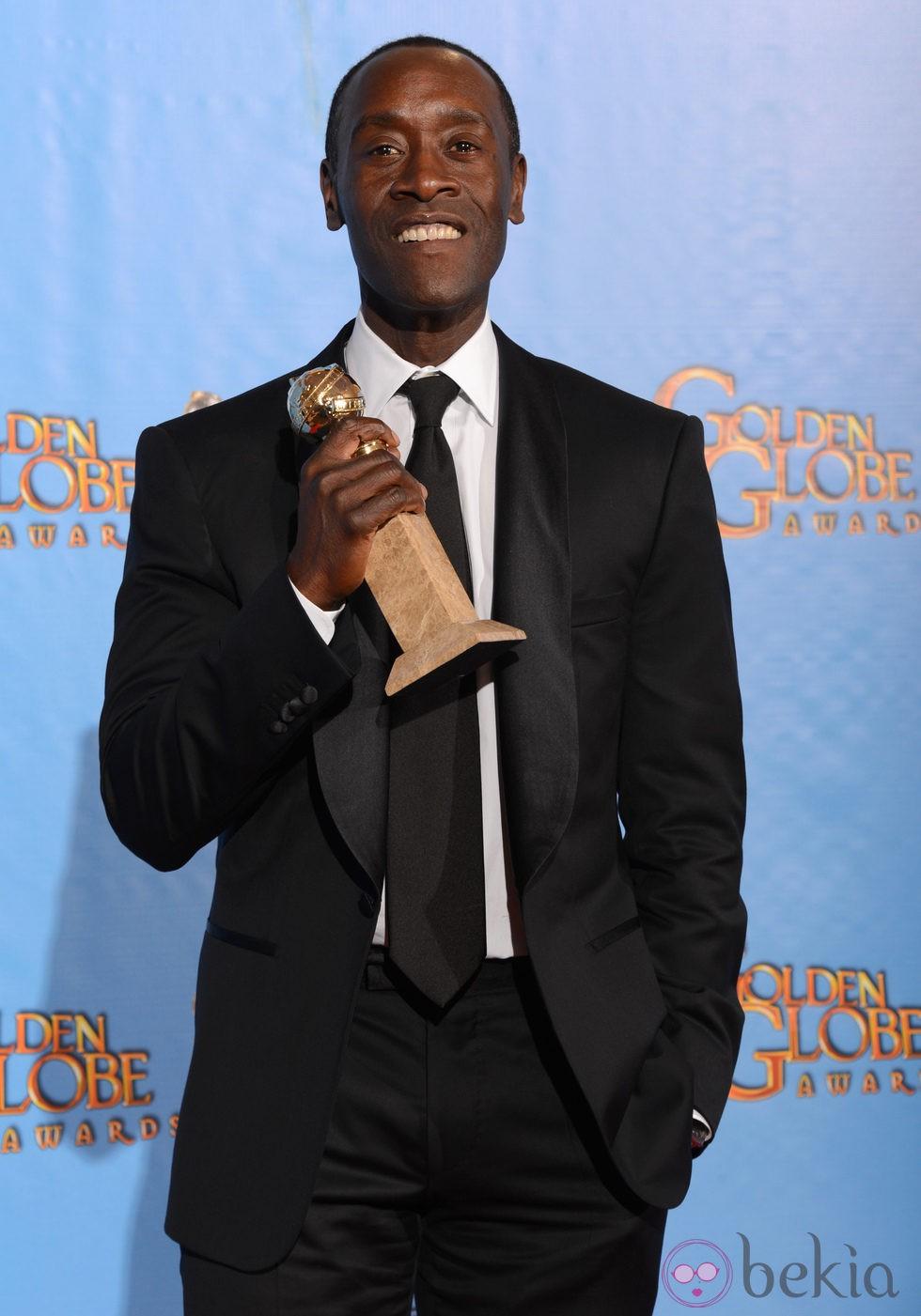 Don Cheadle, Mejor actor de comedia por 'House of Lies' en los Globos de Oro 2013