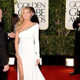 Heidi Klum en los Globos de Oro 2013