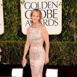 Helen Hunt en los Globos de Oro 2013