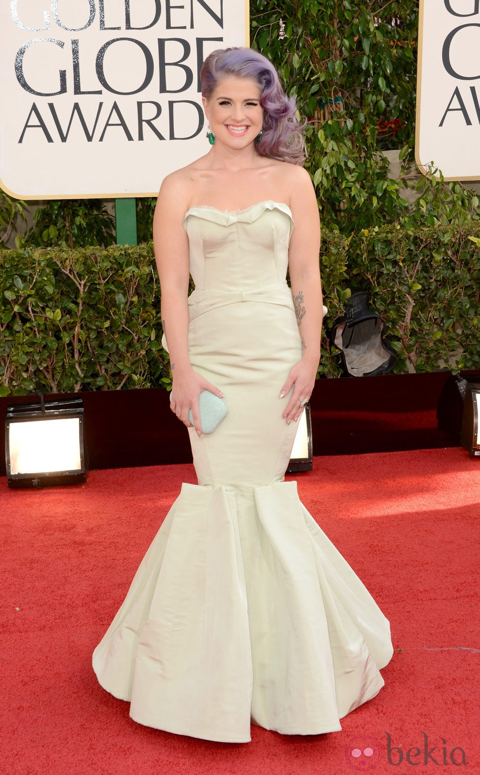 Kelly Osbourne en los Globos de Oro 2013