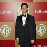 Justin Bartha en la fiesta InStyle tras los Globos de Oro 2013