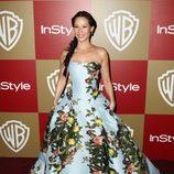 Lucy Liu en la fiesta InStyle tras los Globos de Oro 2013