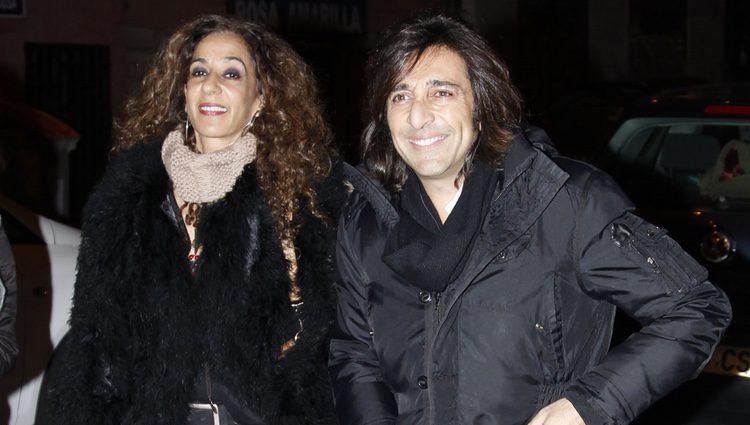 Rosario Flores y Antonio Carmona en el concierto homenaje a Enrique Escudero