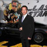 Arnold Schwarzenegger en el estreno de 'El último desafío'