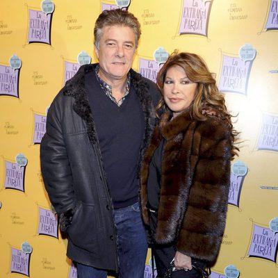 El cantante Francisco y su mujer Paca Ribes