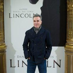 Daniel Day-Lewis en el estreno de 'Lincoln' en Madrid