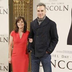 Daniel Day-Lewis y Sally Field en el estreno de 'Lincoln' en Madrid