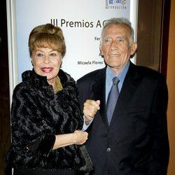 Fernando Guillén y Gemma Cuervo en el año 2011