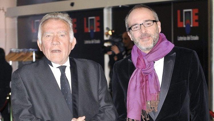 Fernando Guillén y su hijo Fernando Guillén Cuervo