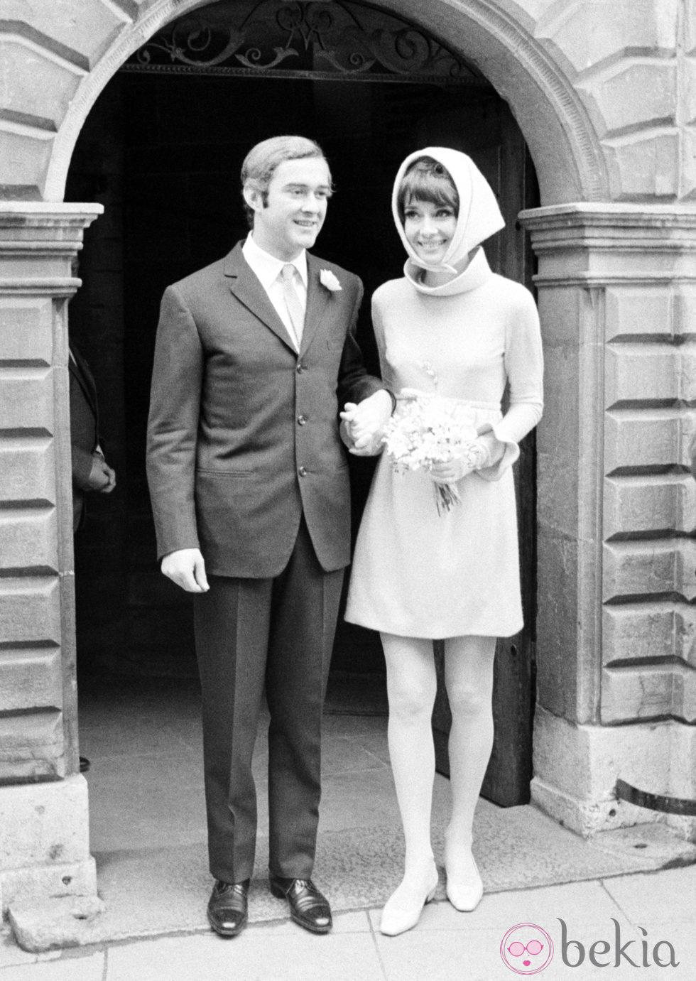 Boda de Audrey Hepburn y Andrea Dotti en 1969 - Repaso en ...