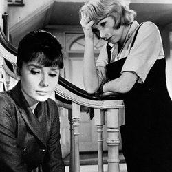 Audrey Hepburn en un fotograma de 'La calumnia'