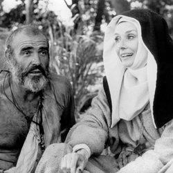 Audrey Hepburn en un fotograma de 'Robin y Marian'