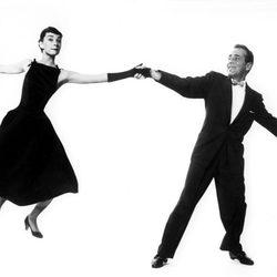 Audrey Hepburn con Humphrey Bogart en 'Sabrina'