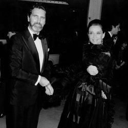 Audrey Hepburn con su última pareja Robert Wolders