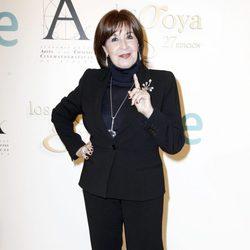 Concha Velasco en la rueda de prensa con motivo de su Goya de Honor 2013