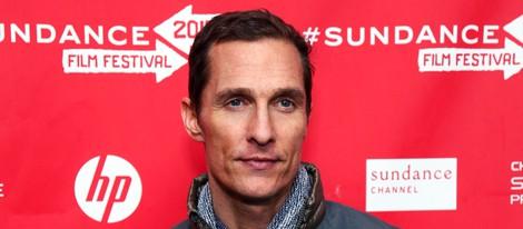 Matthew McConaughey en el Festival de Sundance 2013