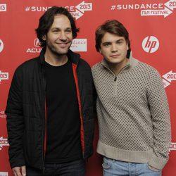 Paul Rudd y Emile Hirsch en el Festival de Sundance 2013