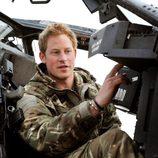 El Príncipe Harry durante su estancia en Afganistán