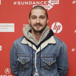 Shia LaBeouf en el Festival de Sundance 2013