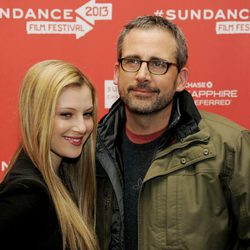 Steve Carell y Zoe Levin en el Festival de Sundance 2013