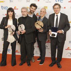 Maribel Verdú y José Sacristán, entre los premiados en los José María Forqué 2013