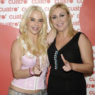 Leticia Sabater y Raquel Mosquera participantes del reality 'Expedición Imposible'