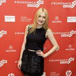 Dakota Fanning en el Festival de Sundance 2013