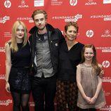 El equipo de 'Very Good Girls' en el Festival de Sundance 2013