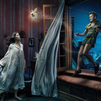 Gisele Bundchen, Mijail Baryshnikov y Tina Fey convertidos en los personajes de 'Peter Pan'