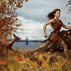 Jessica Biel se convierte en la Princesa de Disney Pocahontas