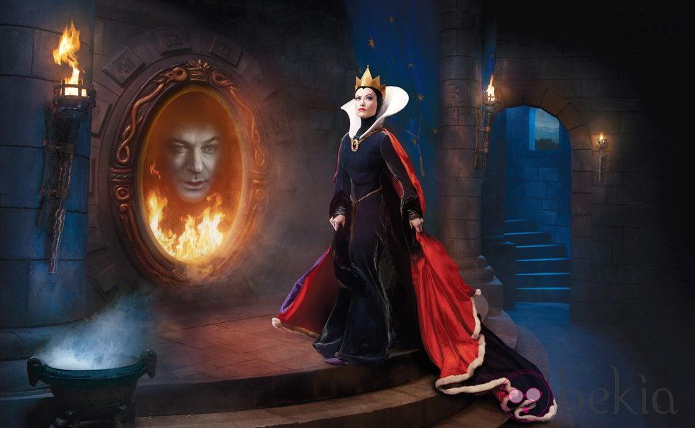 Alec Baldwin y Olivia Wilde convertidos en el espejo 'mágico' y la madrastra de 'Blancanieves'