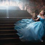 Scarlett Johansson convertida en la Princesa Disney Cenicienta