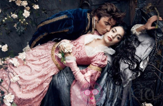 Zac Efron y Vanessa Hudgens convertidos en los personajes de 'La bella durmiente'