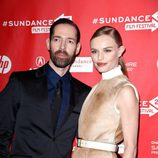 Kate Bosworth junto al director Michael Polish en el Festival de Sundance 2013