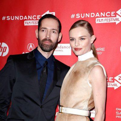 Kate Bosworth junto al director Michael Polish en el Festival de Sundance 2013