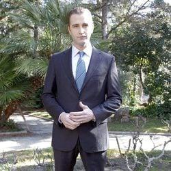 Fernando Gil en la presentación de la miniserie 'El Rey'