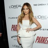 Jennifer Lopez en el estreno de 'Parker'