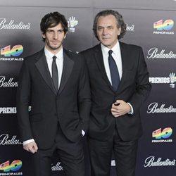 Quim Gutiérrez y José Coronado en los Premios 40 Principales 2012
