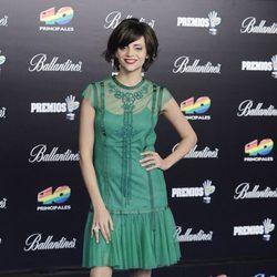 Macarena Gómez en los Premios 40 Principales 2012