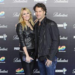 Carlos Moyá y Carolina Cerezuela en los Premios 40 Principales 2012
