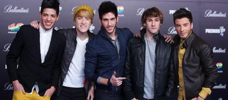 Auryn en los Premios 40 Principales 2012