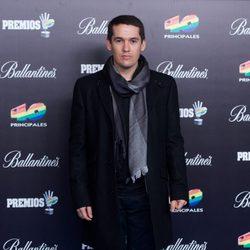 Jorge Ruiz posando en los Premios 40 Principales 2012