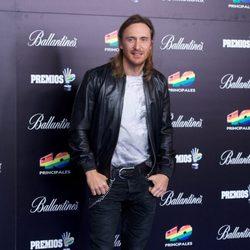 David Guetta en los Premios 40 Principales 2012