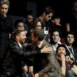 Sergio Ramos y Pablo Alborán en los Premios 40 Principales 2012