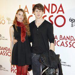 Nicolás Coronado y Cristina Duato en el estreno de 'La banda Picasso' en Madrid