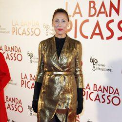 María Barranco en el estreno de 'La banda Picasso' en Madrid